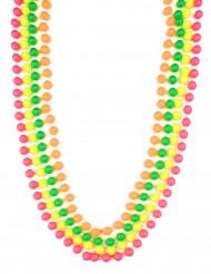 Pärlhalsband neonfärgade vuxen