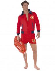 Maskeraddräkt badvakt Baywatch™ vuxen