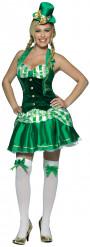 Irlandsinspirerad kostym för vuxna till St. Patrick