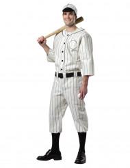 Baseballspelare - utklädnad vuxen