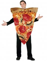 Maskeraddräkt pizza slice vuxen