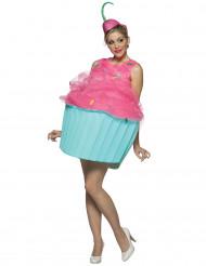 Cupcake - Maskeraddräkt för vuxna