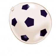 8 Fotbollsballonger - Kalaspynt