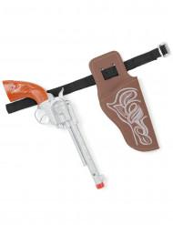 Cowboyens pistol - Tillbehör i plast för barn