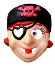 Skojig pirat - Mask för barn till maskeraden