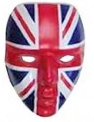Brittisk supportermask till matchen