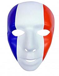 Fransk supportermask till matchen