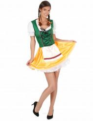 Trude - Kostym med bayersk inspiration till oktoberfest
