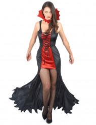 Blodtörst - Vampyrdräkt för vuxna till Halloween