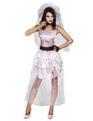 Zombiebrudklänning Halloween