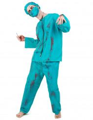 Zombiekirurg - utklädnad vuxen Halloween