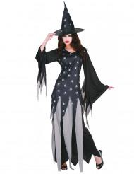 Spindel viskaren - Häxdräkt till Halloween för vuxna