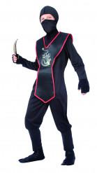 Black Dragon - Ninjadräkt för barn