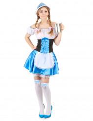 Kostym med bayersk inspiration dam