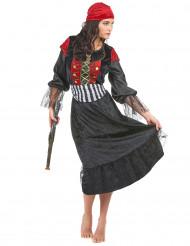 Lyxig piratdrottning - Maskeradkläder för vuxna