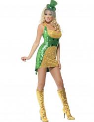 Paljettklänning till St. Patrick