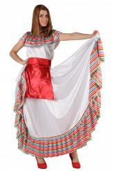 Kostym med salsatema dam