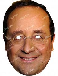 Kartongmask François Hollande