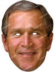 Kartongmask George Bush