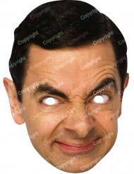 Kartongmask Mr Bean