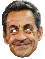 Kartongmask Nicolas Sarkozy