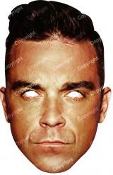 Kartongmask Robbie Williams