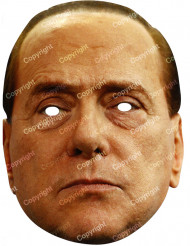 Kartongmask Silvio Berlusconi
