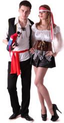 Piratdräkt för par