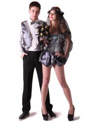 Gotiskt brudpar - Pardräkt för vuxna