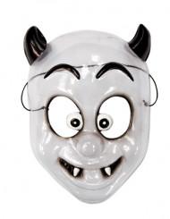 Liten demon - Halloweenmask för barn