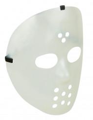 Hockeymask självlysande vuxen