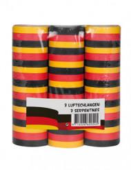 3 serpentiner i tysklands färger