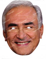 Mask Dominique Strauss Kahn papp