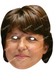 Mask Martine Aubry papp