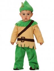 Pojke från skogen kostym bebis