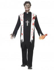Prästzombie - utklädnad vuxen Halloween