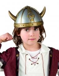 Vikinghjälm med horn barn