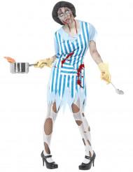 Zombieköksan - Halloweenkostym för vuxna