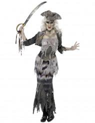 Spökpirat - Maskeraddräkt för vuxen Halloween