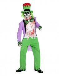 Riktigt galen hattmakare - Halloween kostym för vuxna