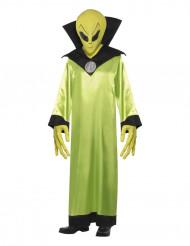 Aliendräkt Halloween vuxna