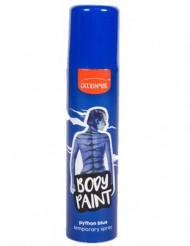 Blå spray för hår och kropp