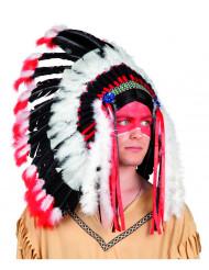 Stolta hövdingens fjäderskrud - Maskeradhattar för vuxna