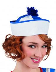 Matros med blå tofs - Maskeradhatt för vuxna