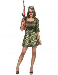 Sexig soldat - utklädnad vuxen