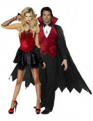 Dracula Par - Halloweendräkt för par