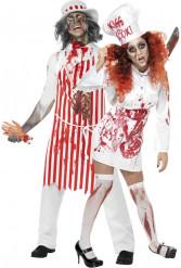 Köksarbetande zombies - Pardräkt till Halloween
