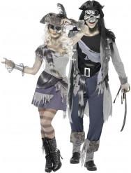 Ett par spökpirater - Pardräkt till Halloween