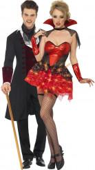 Briljerande vampyrpar till Halloweenfesten