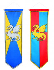 Hängande dekorationer med medeltidsmotiv